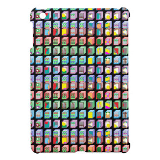 Multiple Miniature Abstract Art Patterns on Gifts iPad Mini Cover
