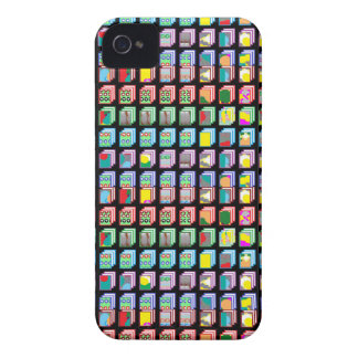 Multiple Miniature Abstract Art Patterns on Gifts iPhone 4 Case