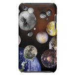 Multiple Moons Space Art NASA Barely There iPod Case