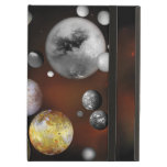 Multiple Moons Space Art NASA iPad Cases