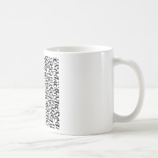 Multiple Mustache Variations Pattern Coffee Mug