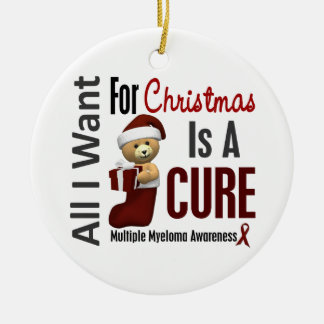 Multiple Myeloma All I Want Christmas Ornaments