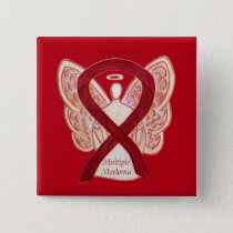 Multiple Myeloma Angel Awareness Ribbon Pins