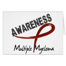 Multiple Myeloma Awareness 3 Card