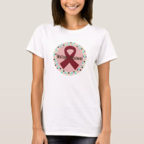 Multiple Myeloma Awareness Polka Dot T-Shirt