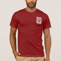 Multiple Myeloma Awareness Ribbon Angel Custom Tee