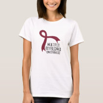 Multiple Myeloma Awareness Ribbon T-Shirt