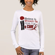 Multiple Myeloma BELIEVE DREAM HOPE Long Sleeve T-Shirt