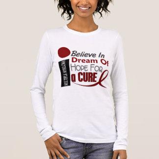 Multiple Myeloma BELIEVE DREAM HOPE Long Sleeve T-Shirt
