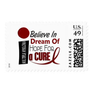 Multiple Myeloma BELIEVE DREAM HOPE Postage Stamps