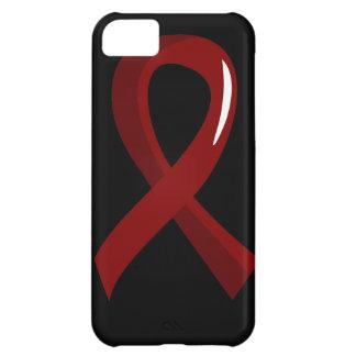 Multiple Myeloma Burgundy Ribbon 3 iPhone 5C Cases