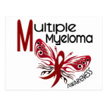 Multiple Myeloma BUTTERFLY 3.1 Postcard