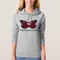 Multiple Myeloma: Butterfly Ribbon of Hope Hoodie