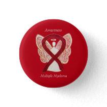 Multiple Myeloma Cancer Angel Awareness Ribbon Pin
