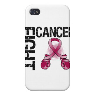 Multiple Myeloma Cancer Fight Boxing Gloves iPhone 4 Cover