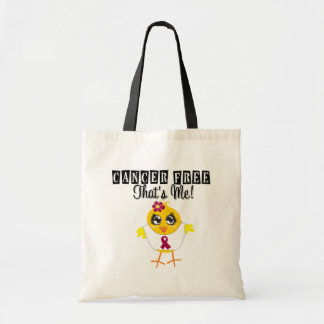 Multiple Myeloma - Cancer Free That's Me Canvas Bags