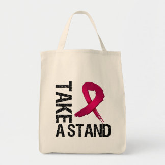 Multiple Myeloma Cancer Take A Stand Tote Bag