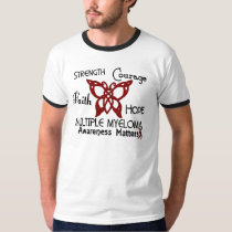 Multiple Myeloma Celtic Butterfly 3 T-Shirt