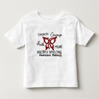 Multiple Myeloma Celtic Butterfly 3 Tees