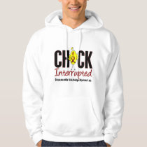 Multiple Myeloma Chick Interrupted Hoodie