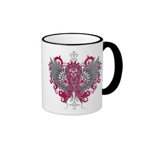 Multiple Myeloma Cool Wings Mugs