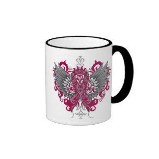 Multiple Myeloma Cool Wings Ringer Coffee Mug