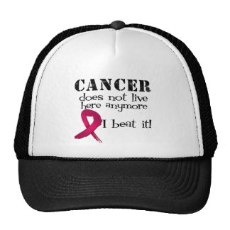 Multiple Myeloma Does Not Live Here Anymore Mesh Hat