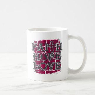 Multiple Myeloma Faith Hope Love Coffee Mug