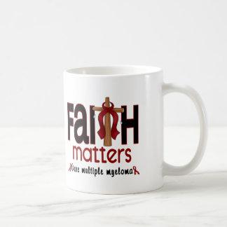 Multiple Myeloma Faith Matters Cross 1 Coffee Mug