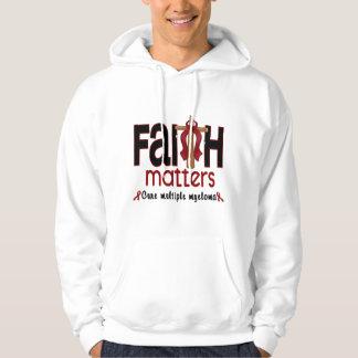 Multiple Myeloma Faith Matters Cross 1 Hoodie