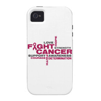 Multiple Myeloma Fight Collage Vibe iPhone 4 Cover