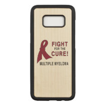 Multiple Myeloma Fight for the Cure Carved Samsung Galaxy S8 Case