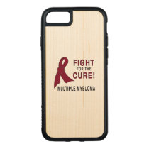 Multiple Myeloma Fight for the Cure Carved iPhone 8/7 Case