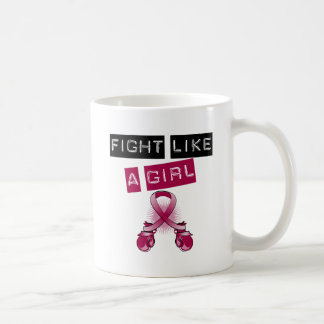 Multiple Myeloma Fight Like A Girl Coffee Mugs