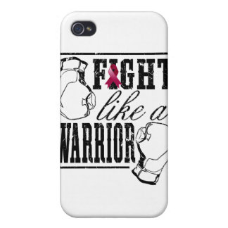 Multiple Myeloma Fight Like a Warrior Covers For iPhone 4