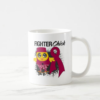 Multiple Myeloma Fighter Chick Grunge Coffee Mugs