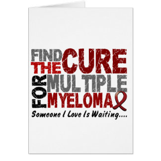 Multiple Myeloma FIND THE CURE 1 Greeting Card