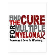 Multiple Myeloma FIND THE CURE 1 Postcard
