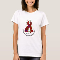 Multiple Myeloma FLOWER RIBBON 1 T-Shirt