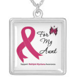 Multiple Myeloma For My Aunt Necklaces