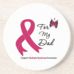 Multiple Myeloma For My Dad Drink Coaster