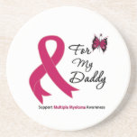 Multiple Myeloma For My Daddy Beverage Coasters
