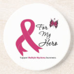 Multiple Myeloma For My Hero Drink Coasters