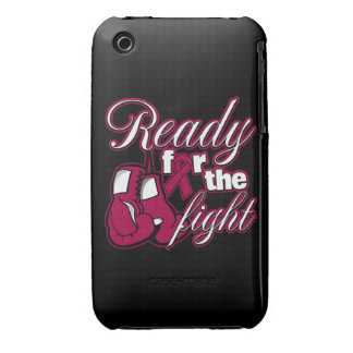 Multiple Myeloma Gloves Ready For The Fight iPhone 3 Cases