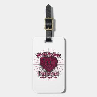 Multiple Myeloma Heart I Fight Like A Girl Bag Tags
