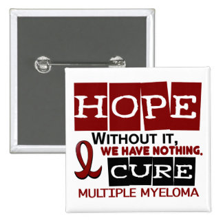 Multiple Myeloma HOPE 2 2 Inch Square Button