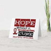 Multiple Myeloma HOPE 2 Card