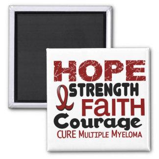 Multiple Myeloma HOPE 3 Fridge Magnets