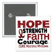 Multiple Myeloma HOPE 3 Pinback Button