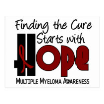 Multiple Myeloma HOPE 4 Postcard